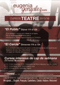 Cursos Eugenia Gonzalez - 2015