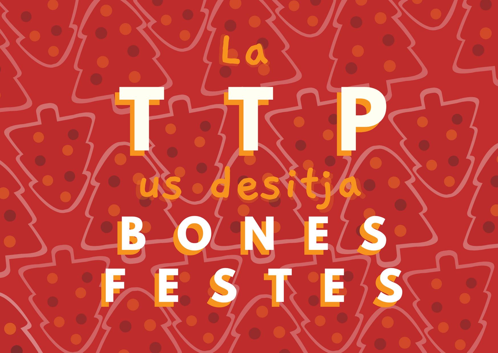 Bon nadal de part de la TTP