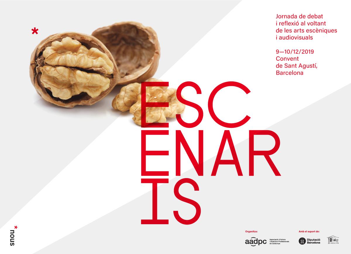Cartell de Nous Escenaris (by AADPC)