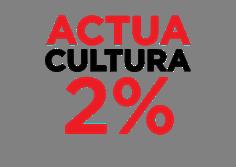 logo actua cultura 2%