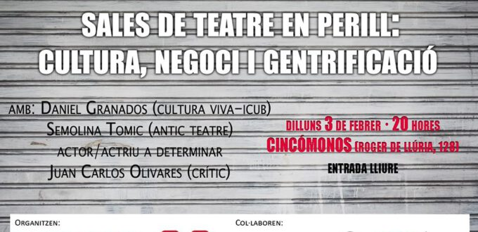 Debat: sales de teatre en perill