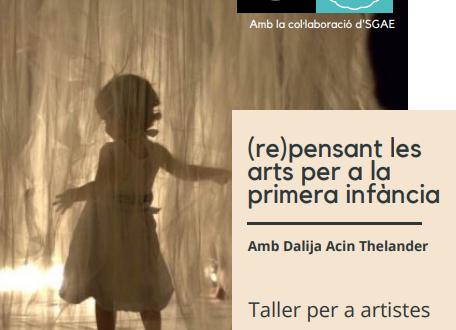 (re)pensant les arts per a la primera infància