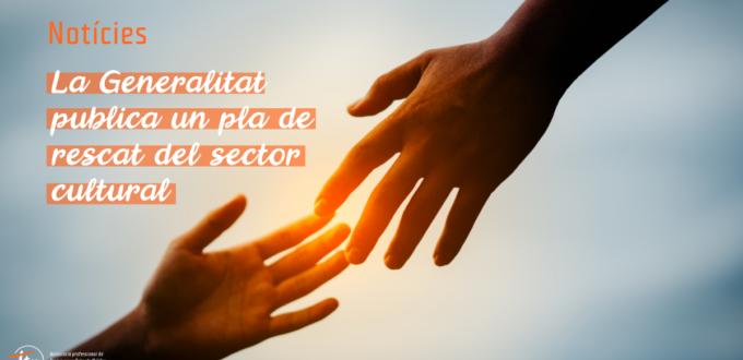 La Generalitat publica un pla de rescat del sector cultural