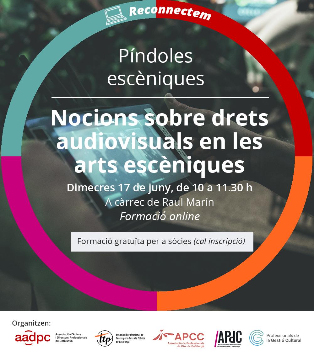 Píndoles escèniques: Nocions sobre drets audiovisuals en les arts escèniques