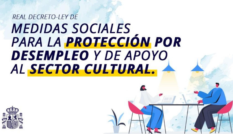 El Gobierno aprova noves mesures de protecció per als treballadors del sector cultural
