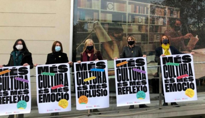 'Més cultura', la campanya per fomentar el consum cultural