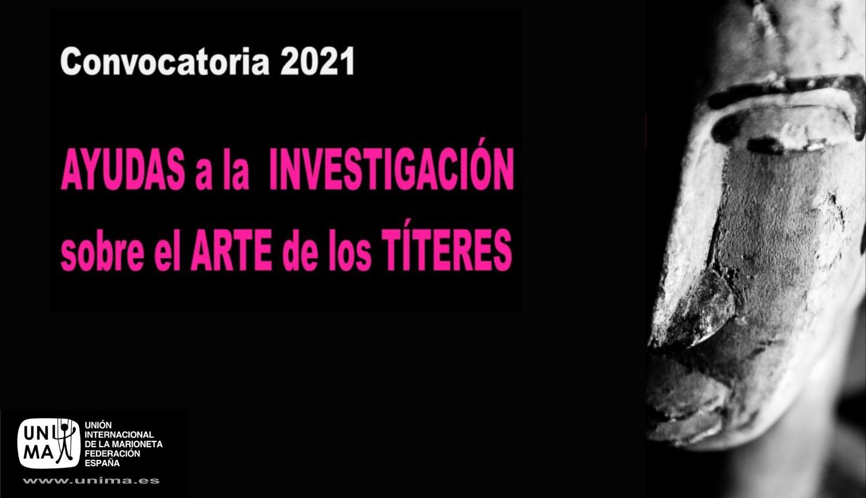 Oberta la convocatòria d'ajudes a la investigació 2021 d'UNIMA Espanya