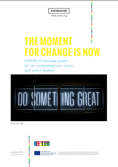 DOCUMENT: The moment for change is now