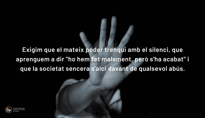 Comunicat de la TTP sobre els abusos denunciats pel Diari Ara a l'Institut del Teatre
