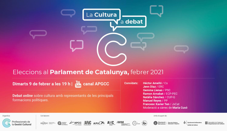 L'APGCC organitza un debat cultural amb les principals forces polítiques abans del 14F