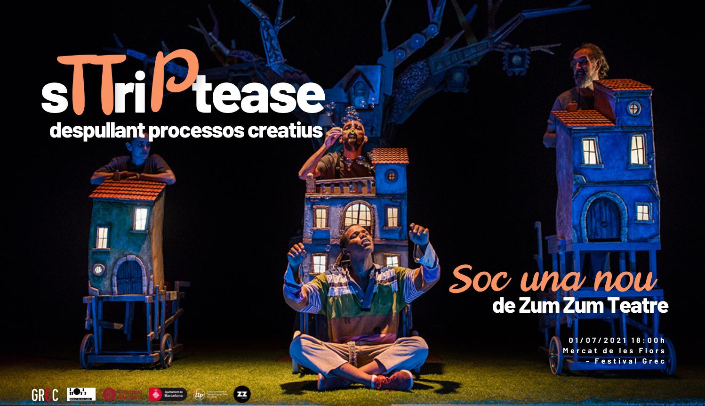 Tornen els sTTriPtease, l'1 de juliol despullem 'Soc una Nou' al Festival Grec