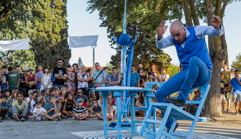 El clown JAM, soci de la TTP, participa en un festival a Itàlia com a guanyador del Sibiu International Theatre Festival