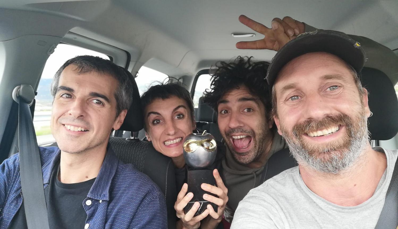 """Xirriquiteula Teatre, companyia sòcia de la TTP, guanya el Premi Max al Millor Espectacle per a públic infantil, juvenil i familiar amb """"Laika"""""""